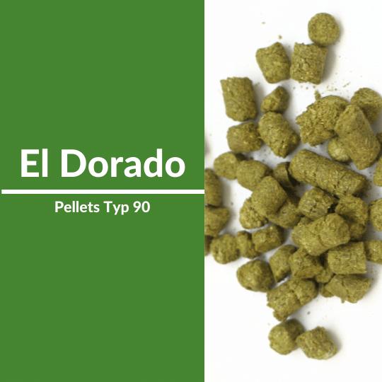 El Dorado Hopfenpellets Typ90