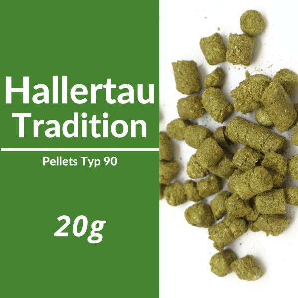 20g Hallertau Tradition Hopfenpellets P90