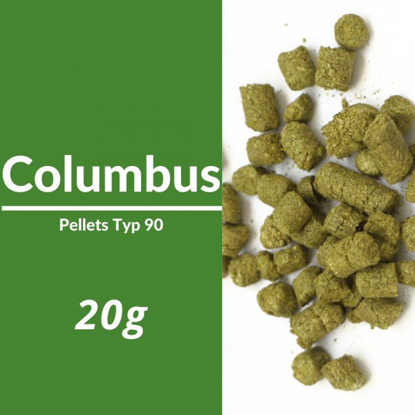 20g Columbus Hopfenpellets P90