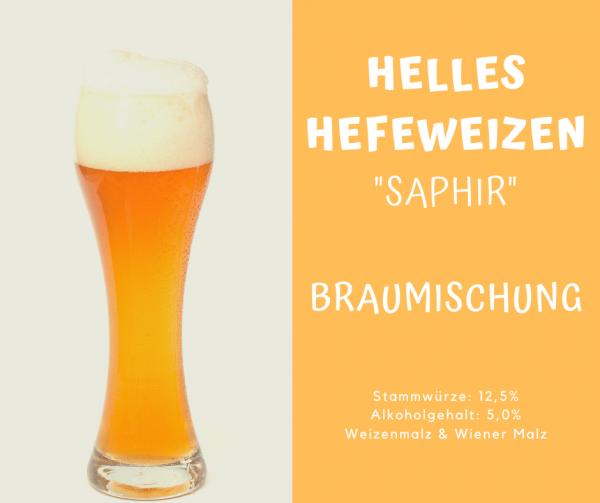 "Helles Hefeweizen ""Saphir"" - Braumischung"