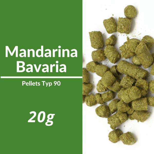 20g Mandarina Bavaria Hopfenpellets P90