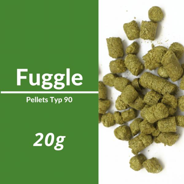 20g Fuggle Hopfenpellets P90
