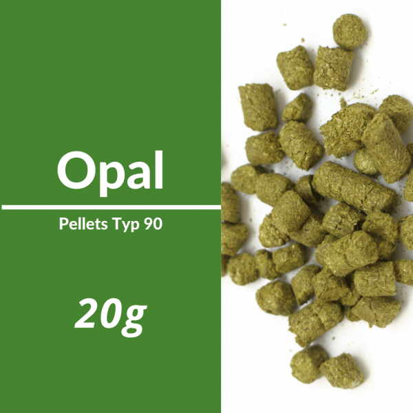 20g Opal Hopfenpellets P90