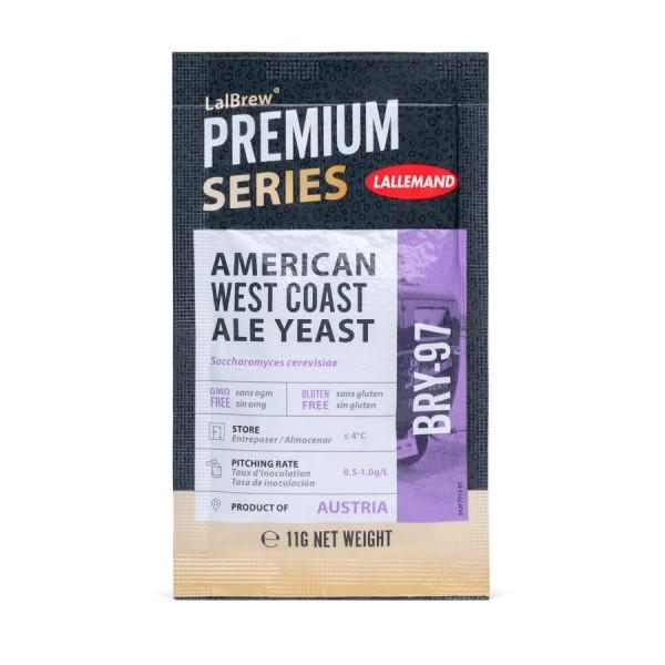 LalBrew® BRY-97 American West Coast Ale Yeast - Trockenhefe