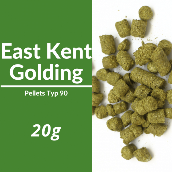 20g East Kent Golding Hopfenpellets P90