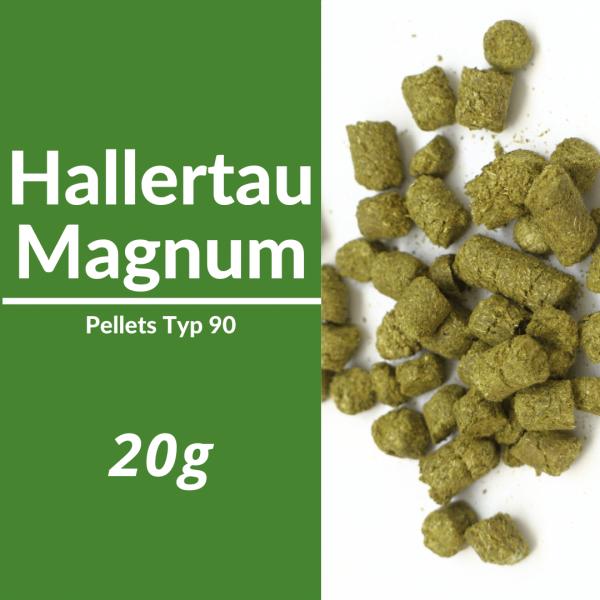 20g Hallertau Magnum Hopfenpellets P90