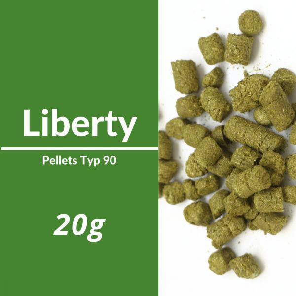20g Liberty Hopfenpellets P90