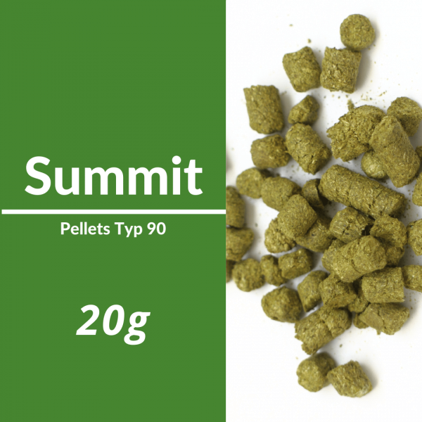 20g Summit Hopfenpellets P90