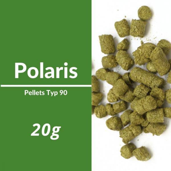 20g Polaris Hopfenpellets P90