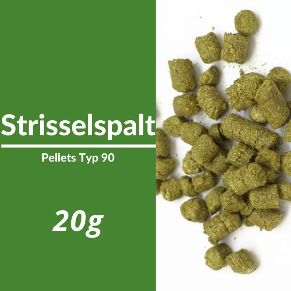20g Strisselspalt Hopfenpellets P90