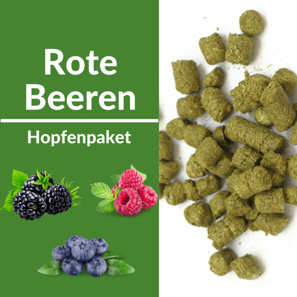 Hopfenpaket rote Beeren Aroma
