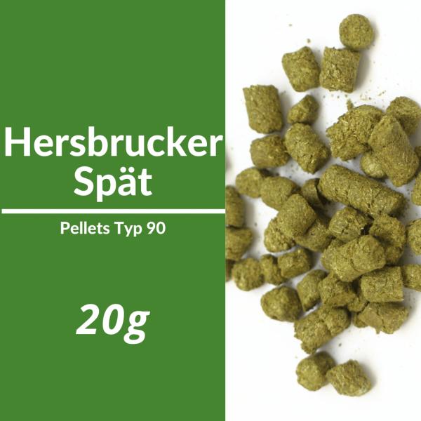 20g Hersbrucker Späte Hopfenpellets P90