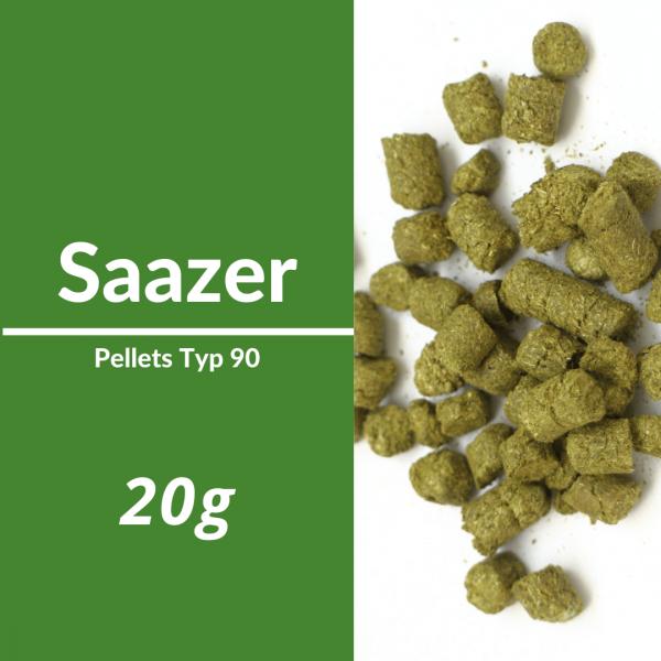 20g Saazer Hopfenpellets P90