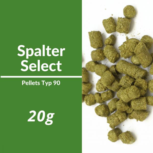 20g Spalter Select Hopfenpellets P90