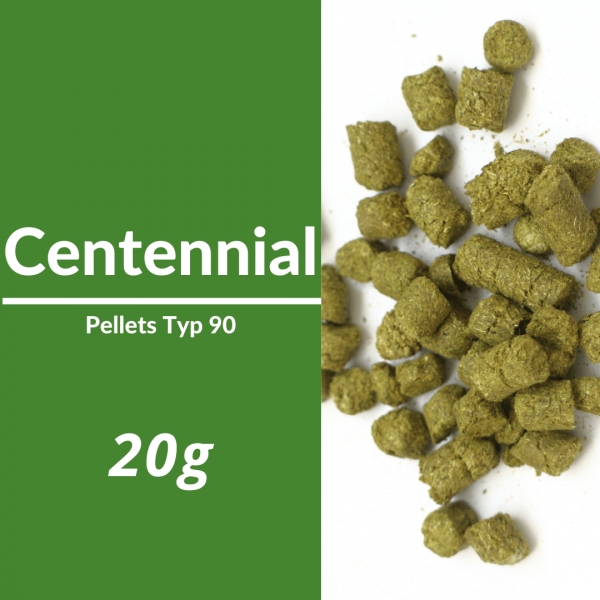 20g Centennial Hopfenpellets 90