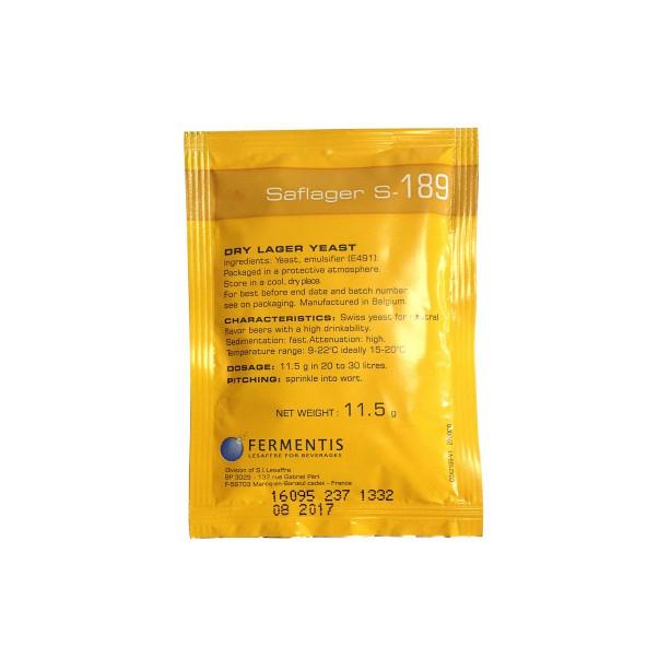 Fermentis Saflager S-189 | Trockenhefe 11g